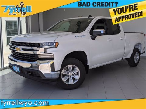New 2020 Chevrolet Silverado 1500 LT 4WD 4D Double Cab
