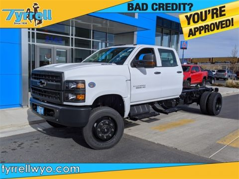 New 2019 Chevrolet Work Truck 4WD 4D Crew Cab