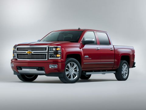 Pre-Owned 2014 Chevrolet Silverado 1500 High Country 4WD 4D Crew Cab