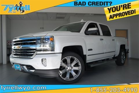 New 2018 Chevrolet Silverado 1500 High Country 4WD 4D Crew Cab